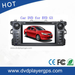 Byd G3를 위한 TV/Bt/RDS/IR/Aux/GPS를 가진 차 DVD 플레이어 MP4 선수