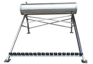 ステンレス鋼の太陽給湯装置(ヒートパイプ)