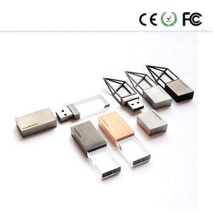 Логотип OEM деревянные кристально чистый флэш-накопитель USB 4 ГБ-64ГБ