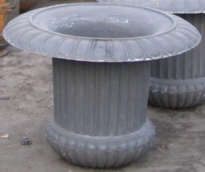 鋳鉄の庭の鍋J-12
