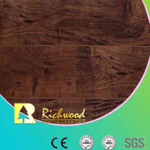 12.3mm Rainure en V AC3 E1 HDF plancher stratifié