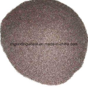 Met een laag bedekt Schuurmiddel van het Bruine Oxyde van het Aluminium