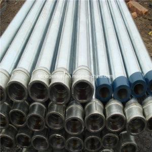 lo zinco 250G/M2 ha ricoperto i tubi d'acciaio galvanizzati tuffati caldi filettati d'accoppiamento