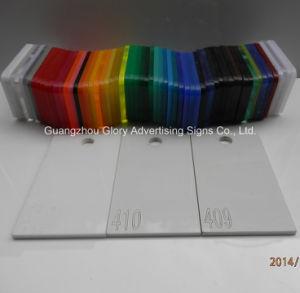 Plastic AcrylBlad PMMA voor de Reclame van Teken