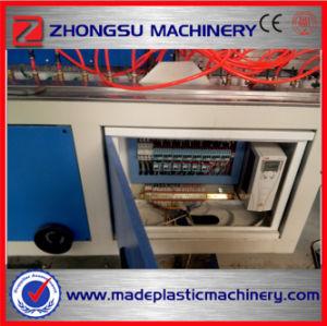 PVC /WPC (PE/PP+wood) Windows 단면도 또는 천장판 또는 문 널 또는 마루 판자벽 또는 가장자리 밴딩 또는 코너 구슬 관 밀어남 또는 내미는 생산 라인