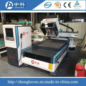 As portas para trabalhar madeira máquina de esculpir CNC com função do ATC