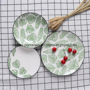 Western style défini pour le restaurant la vaisselle en céramique