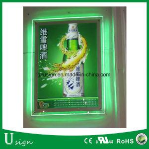 Ads Snap châssis ultraplat LED boîte à lumière titulaire signe d'affiches pour la bière