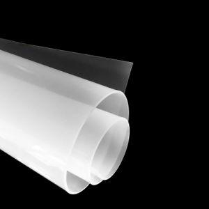 Soft Food Grade feuille de caoutchouc de silicone transparent
