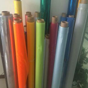 Fábrica de Nantong Jiangsu película plástica colorida de PVC de Alimentação