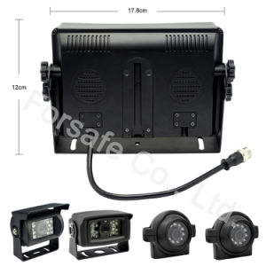 7  vierling-Mening Systeem van de Camera van de Auto van de Monitor Rearview