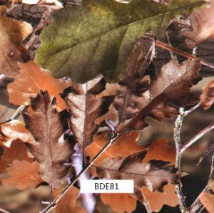 屋外のItmes (BDE71)のための葉のCamo水転送のPrinitngのフィルム