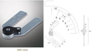 Sofá Sofá de hardware, el apoyacabezas bisagra, Sofá Sofá de las bisagras de acople (29010052)