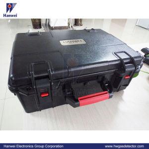 Портативный трансграничном лазерный метана на режим без фиксации детектора утечки метана