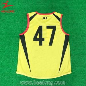 Healong tutto il colore ha stampato l'usura superiore Afl Jersey della squadra di vendita