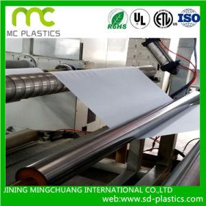 Os dutos de ar flexível filme macio usado no sistema de ventilação