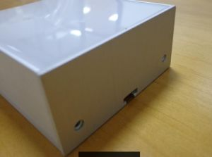 La luz de la línea de perfil de aluminio es de 75mm*35mm