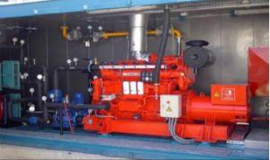 하수 처리를 위한 Ycd6l 시리즈 (YCD6L176BG) Biogas 발전기 세트 또는 밀짚 또는 유기 패기물