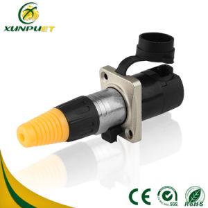 Водонепроницаемый на женщин и мужчин автоматический разъем кабеля на дисплей со светодиодной подсветкой