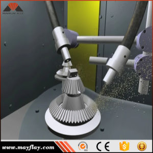Mayflayは表面のクリーニングのショットピーニング機械、Mrt2-80L2-4をカスタマイズした