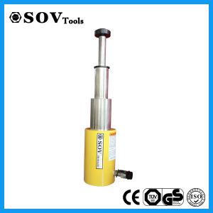 マルチ段階単動油圧オイルシリンダー