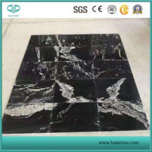 中国の黒い花こう岩新しいNero Brancoの床タイルのための高貴なバレエの花こう岩