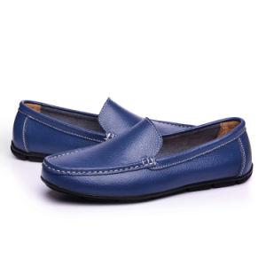 Venta caliente hombres zapatos de cuero Doug Zapatos Zapatos de moda (FTS1019-21)