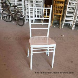 Qualität, die MetallChiavari Stuhl-Tiffany-Stuhl-Hochzeits-Stuhl stapelt