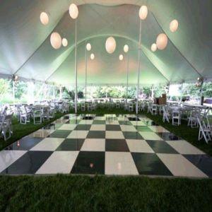 Alta Qualiity/LED RGB de Dança de madeira por parte do evento de casamento