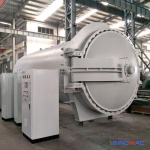 2800x4500мм парового отопления в автоклаве и управление с помощью ПЛК Vulcanizating резины с