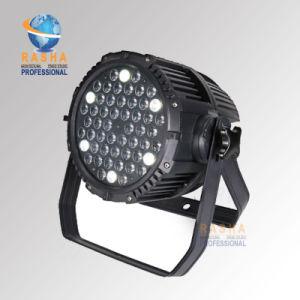 54*3W RGBWフルカラーDMXは同価LEDの屋外ライトを防水する