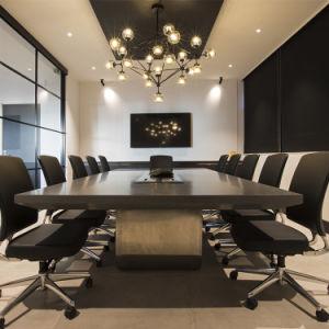 Inglaterra de la Oficina de estilo moderno Reunión Mesa para Sala de ...