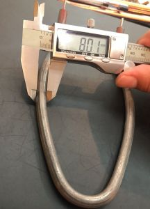 201/304 Roestvrij staal voor Elektrisch het Verwarmen van het Ijzer het Verwarmen van de Buis Element
