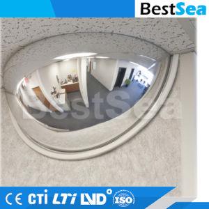 180 градусов половина купол безопасности Polycarbornate выпуклого зеркала заднего вида