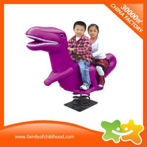 Dinosaurio de los asientos dobles Niños Diversión para la venta de equipos