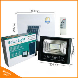 Proiettore solare esterno del giardino LED per il proiettore dell'iarda della famiglia