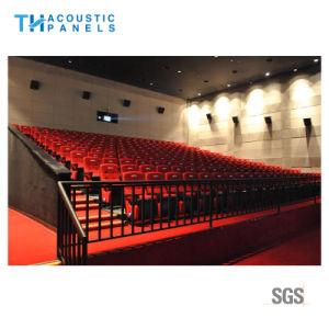soffitto acustico decorativo della fibra di poliestere di impermeabilizzazione dell'acqua di 12mm per il cinematografo