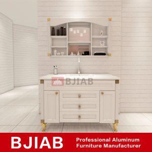 Sándalo amarilla personalizada de muebles de hogar moderno cuarto de baño Waterproof de aluminio