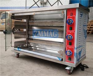 商業ガスの鶏BBQのRotisserieモーターガスオーブンのグリル(ZMJ-3LE)
