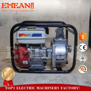 Air-Cooled motor de gasolina 4 tiempos de la bomba de agua