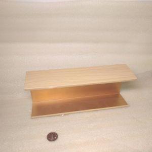Новые Большие деревянные зерна алюминиевая перегородка потолком звукоизолирующие материалы конструкции