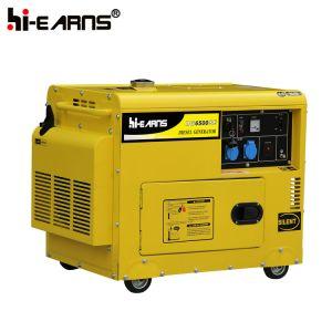Le soudage générateur diesel pour l'extérieur de la soudure (DG6500SEW)