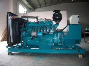 汚水処理またはわらまたは有機性無駄のためのYcd6bシリーズ(YCD6B68BG) Biogasの発電機セット