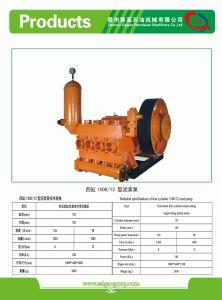 Schlamm-Pumpe, Grube, Wasser gut, Ölquelle, Bw, Spülpumpe