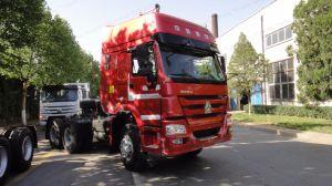 Verwendetes Sinotruck HOWO Rhd LHD 8/4 6/4 Speicherauszug-Traktor-LKW