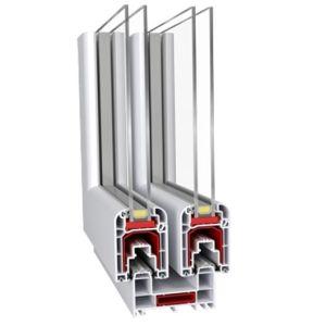 Potente Sound-Proof Corrediço Horizontal de alumínio