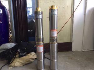 Acier inoxydable à plusieurs stades de la pompe de nettoyage de la pompe de puits profond de la pompe submersible