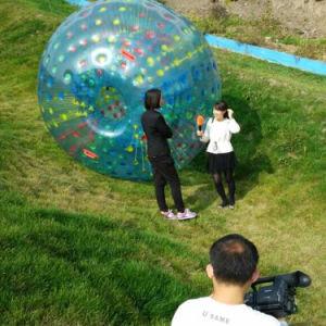 Fábrica de fabricación de inflables y el Parque de Diversiones Bumper Ball