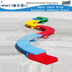 De kinderen spelen Brug van het enig-Logboek van de Apparatuur de Binnen Plastic (HF-21905)