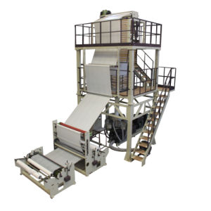 Stable Output HDPE Extruder Blown Film Machine for Shopping Bag